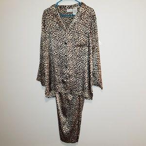 Leopard Print PJ set